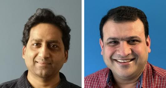 Ranjit Gopi and Chetan Kamat Code Ninjas